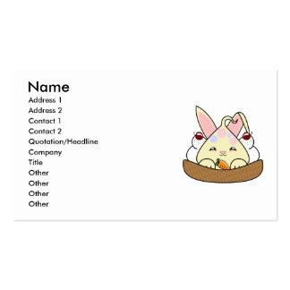 El caramelo remató el helado de la galleta de Hopd Tarjetas De Visita