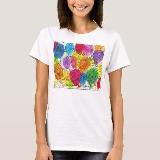 El caramelo riega al artista del autismo camiseta
