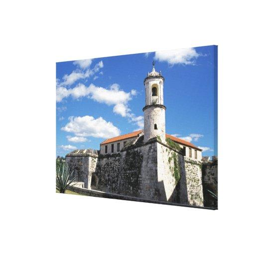 El Caribe, Cuba, La Habana. La Habana vieja, Casti Impresión En Lona