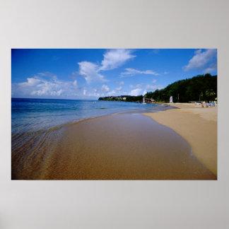 El Caribe, pocas Antillas, las Antillas, 3 Posters