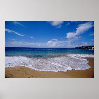 El Caribe, pocas Antillas, las Antillas, 4 Póster