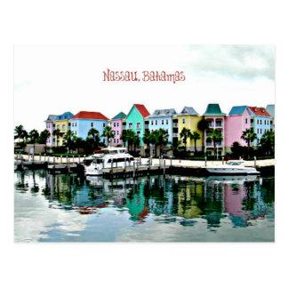 El Caribe: Puerto deportivo de Nassau Bahamas Postal