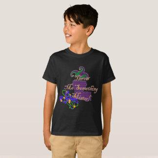 El carnaval de los niños me lanza algo señor camiseta