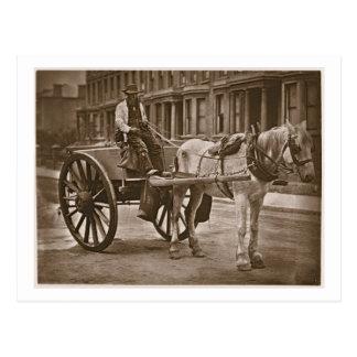 "El carro de agua, a partir de la ""vida en las postal"