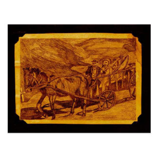 El carro de Leiter Postal