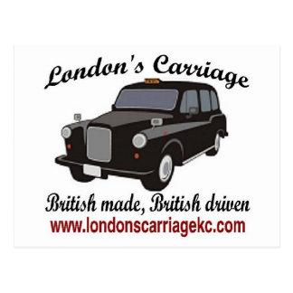 El carro de Londres Postales