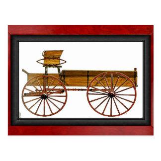 El carro del granjero postal