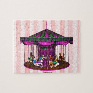 El carrusel púrpura puzzle