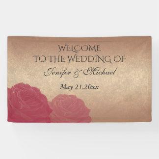 El casarse color de rosa romántico encantador de