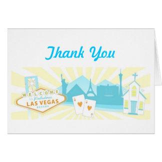 El casarse de Las Vegas le agradece las tarjetas -