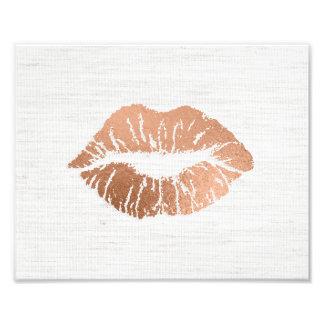 El casarse delicioso de los labios del Hoja-efecto Fotos