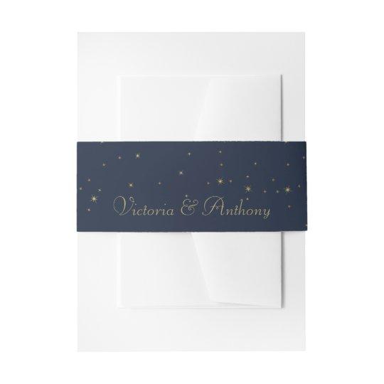 El casarse elegante de las estrellas el caer de la cintas para invitaciones