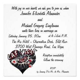 El casarse elegante de Las Vegas Comunicados Personales