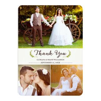 Echa un vistazo a los miles de diseños de invitaciones para agradecer la asistencia a la boda