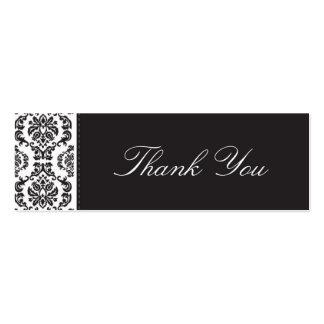El CASARSE:: gracias marcar con etiqueta:: damasco Plantillas De Tarjeta De Negocio