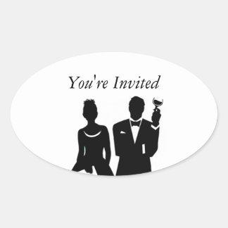 El casarse invita al sello del sobre