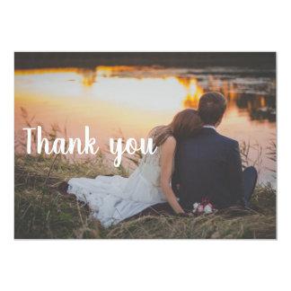 El casarse le agradece la postal - par por el agua