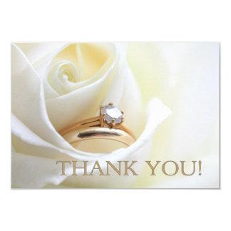 El casarse le agradece observar invitación 8,9 x 12,7 cm