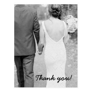 El casarse le agradece postal de la foto