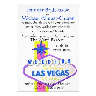 El casarse moderno de Las Vegas