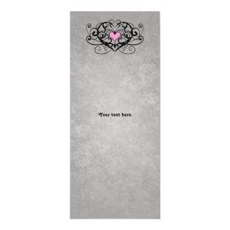 El casarse romántico de los remolinos y de los invitación 10,1 x 23,5 cm