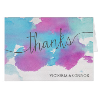 Browse the Modern Wedding Thank You Cards Collection and personalize by color, design, or style.