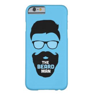El caso del hombre de la barba funda de iPhone 6 barely there