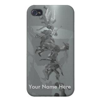 El caso del soltero iPhone 4/4S carcasas