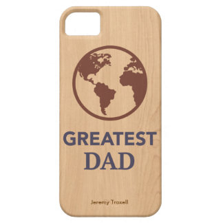 El caso más grande del iphone del papá del mundo iPhone 5 Case-Mate coberturas