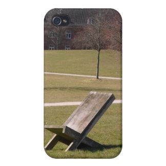 El caso solo del iphone 4 de la silla iPhone 4 cobertura