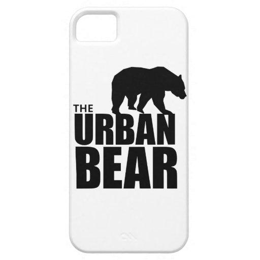El caso urbano del iPhone del oso iPhone 5 Cárcasas