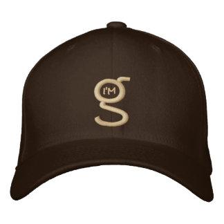 El casquillo apto w de la flexión de color caqui gorra bordada