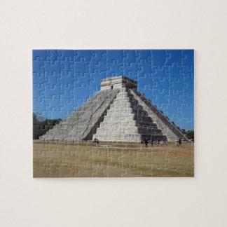 EL Castillo - Chichen Itza, rompecabezas Mexico#4