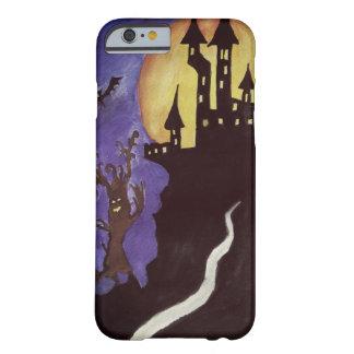 El castillo de Halloween golpea el iPhone 6/6s, Funda Barely There iPhone 6