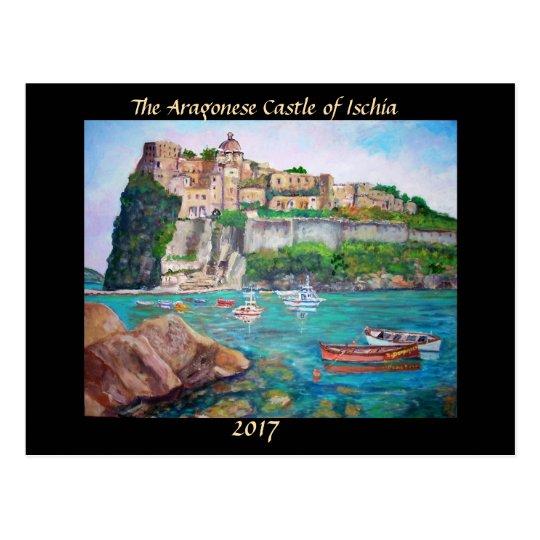 El castillo de isquiones - postal