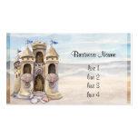 El castillo de la arena soña el calendario 2013 tarjeta personal