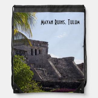 El Castillo de Tulum - ruinas mayas Mochilas