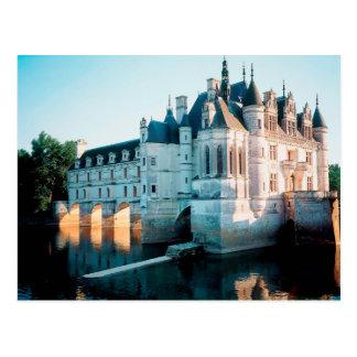 El castillo francés de Chenonceau In Francia Postal