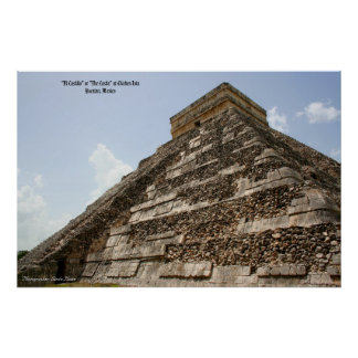 """""""EL Castillo"""" o """"el castillo"""" en Chichen Ixta Impresiones"""