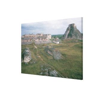EL Castillo y el convento de monjas Impresión En Lienzo