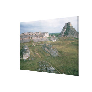 EL Castillo y el convento de monjas Lona Envuelta Para Galerias