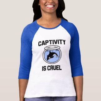 El cautiverio es reserva cruel la camisa de las