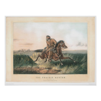 """El cazador de la pradera: """"Uno frotado hacia fuera Impresiones"""