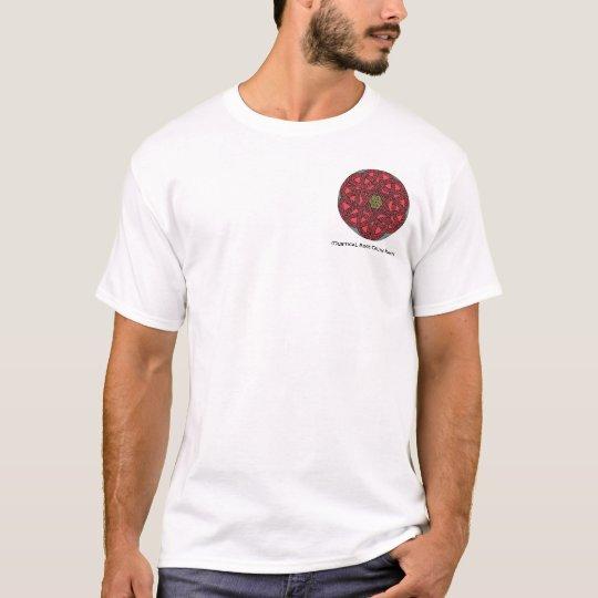 El Celtic color de rosa místico anuda la camisa 26