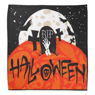 El cementerio fantasmagórico de Halloween golpea Bandanas