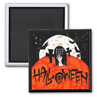 El cementerio fantasmagórico de Halloween golpea Imanes