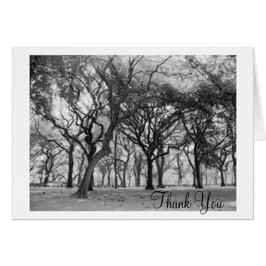 El Central Park le agradece Tarjeta De Felicitación