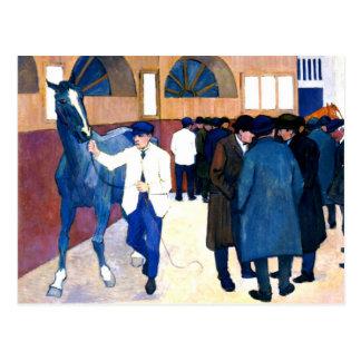 El centro comercial del caballo postal