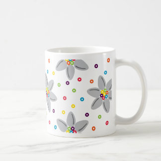 El cereal florece la taza