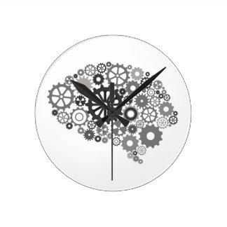 El cerebro adapta el reloj de pared